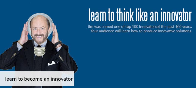 innovation consultant and public speaker