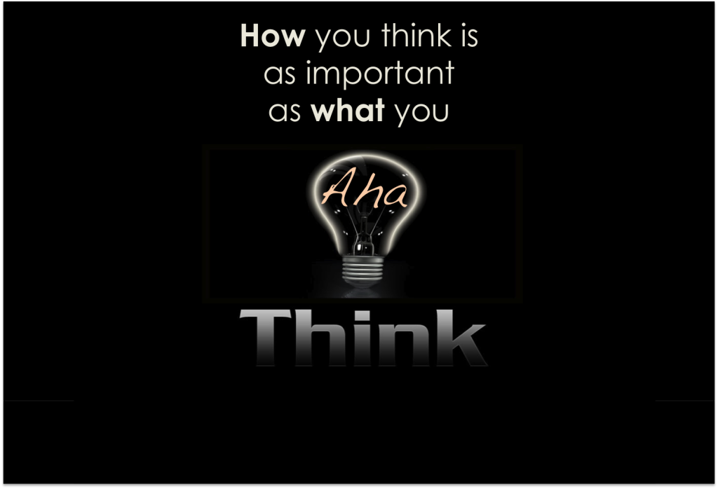 How You Think