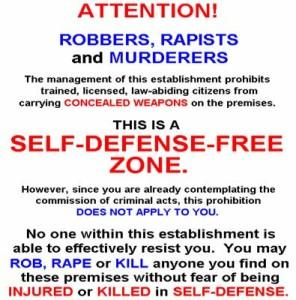 Gun-Free-zones