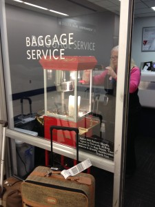 Baggage Popcorn