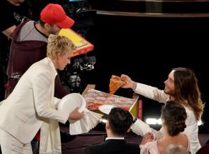 Oscar and a slice