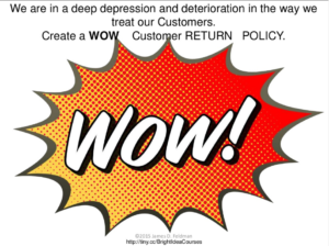 Shift Happens!® when you deliver WOW Customer Service